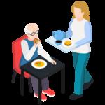 Servicio doméstico de ancianos