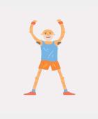 flexion de cadera y cintura