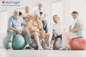 La actividad física en los mayores